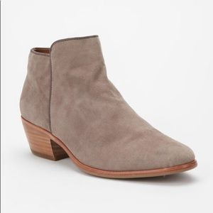 Sam Edelman 'Petty' Grey Suede Ankle Booties 9 M
